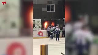 """В """"Фетисов-Арене"""" загорелась проводка"""