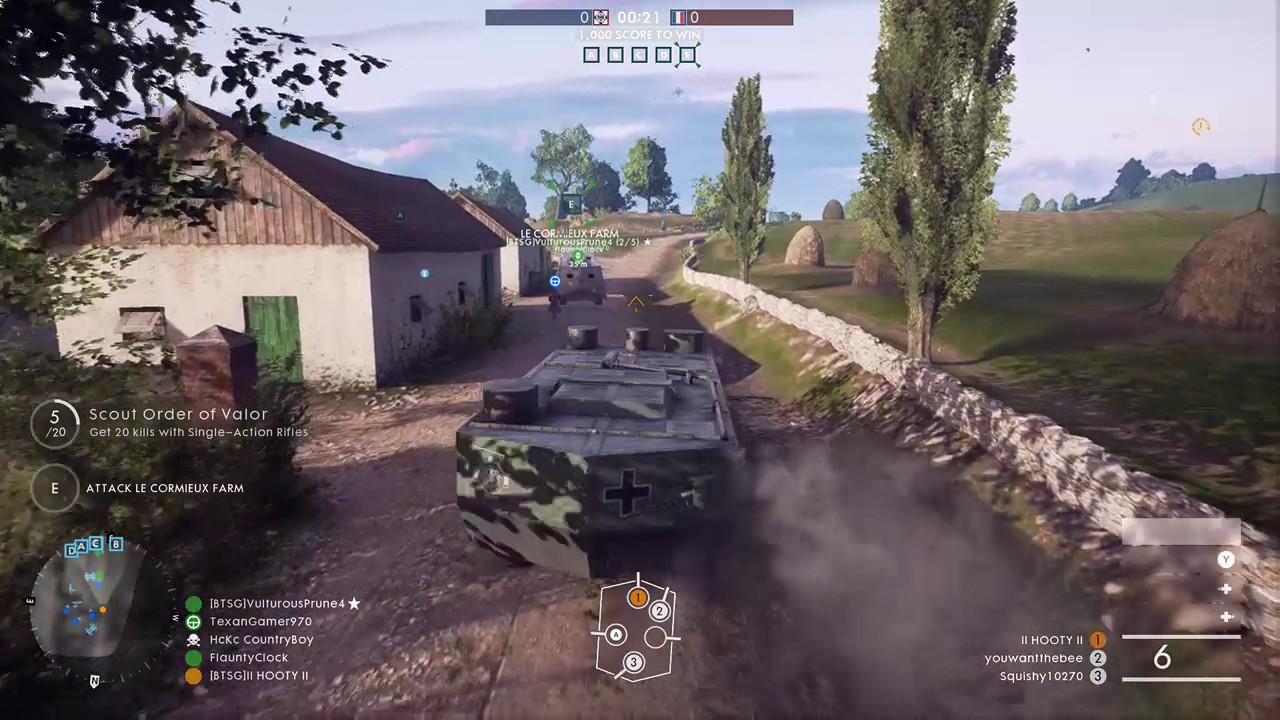 II HOOTY Playing Battlefield 1 On Xbox One