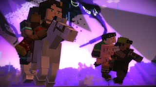Minecraft Story Mode Female Playthrough Episode 4 A Block and a Hard Place Full Playthrough