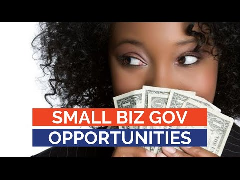 Government Contracting Opportunities For Small Businesses: Follow The Money