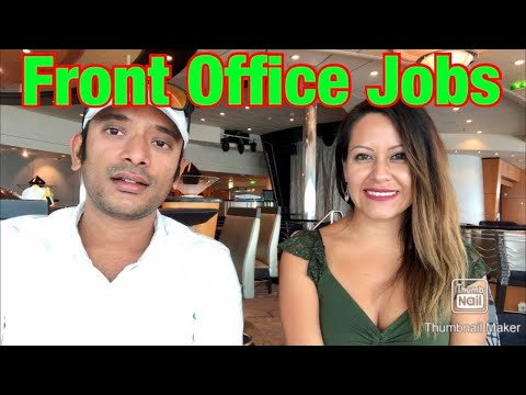 Front Office Jobs In Cruise Line | Guest Service Jobs In Cruise Ships