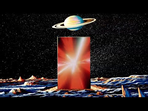 Iapetus: The Monolith Waits (2001 A Space Odyssey Stargate Sequence)