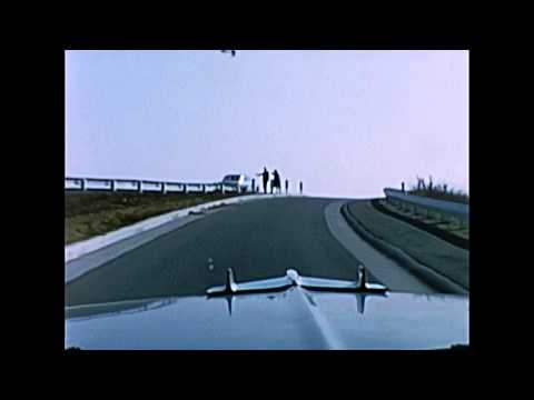 1960s 8mm Home Movie Film - Driving on I5 from Orange to Oceanside