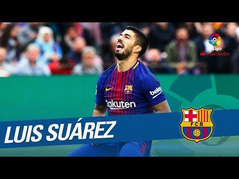 Luis Suarez Best Goals & Skills LaLiga Santander 2017/2018