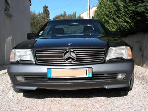 mercedes 500 sl vente occasion youtube. Black Bedroom Furniture Sets. Home Design Ideas