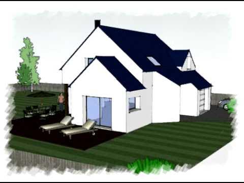 Arteco125 constructeur maisons bretagne youtube for Constructeur maison 54