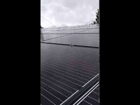 Goetz 9.95 KW Solar Installation on Metal Roof