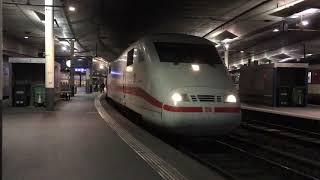 ICE1 ベルン駅をゆっくり発車