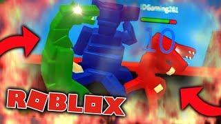 Roblox Godzilla Simulator - GODZILLA VS GODZILLA!?