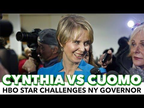 Progressive Actress Cynthia Nixon To Challenge Governor Cuomo