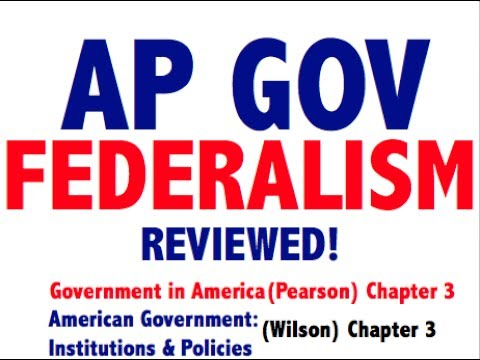 AP Gov Explained: Government in America Chapter 3