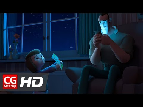 "CGI Animated Short Film: ""Distracted"" by Emile Jacques 