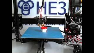 HE3D EI3 Dual  Extruder  3d Printer Prusa I3