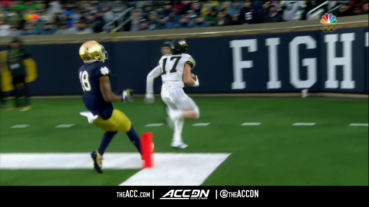 Wake Forest Qb John Wolford Top Plays 2017 Youtube