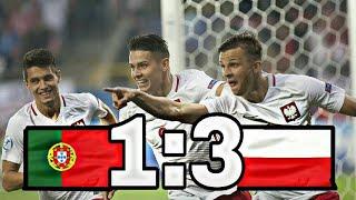 Portugalia 1:3 Polska U21 - Skrót meczu HIGHLIGHTS