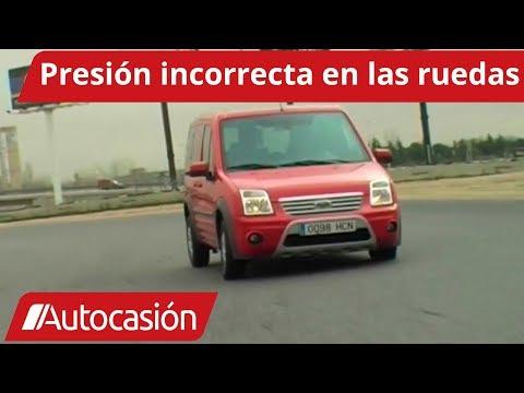 Efectos de una presión inadecuada en los neumáticos