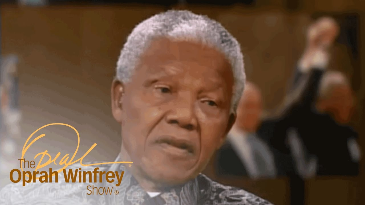 Why Nelson Mandela Says He's Only Human   The Oprah Winfrey Show   Oprah Winfrey Network