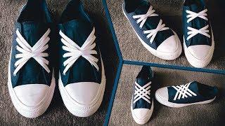 3 Beautiful ways to tie Shoe Laces   CrissCross Style