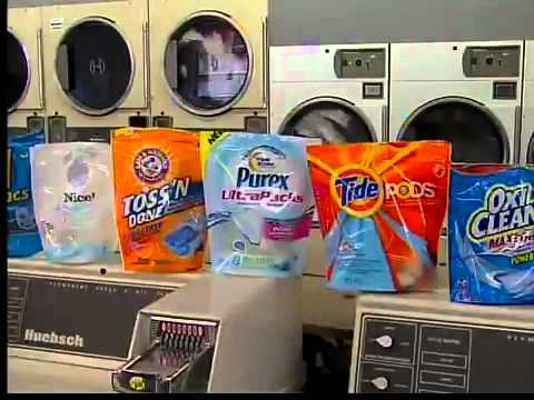 laundry detergent pacs and
