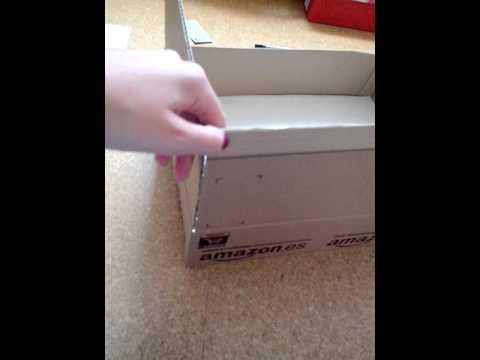 Monster high Haus selbst machen aus einem Amazon k - YouTube