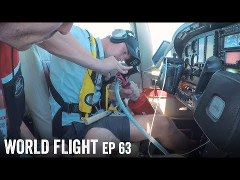FUEL PUMP BROKE 700 MILES FROM LAND! - World Flight Episode 63