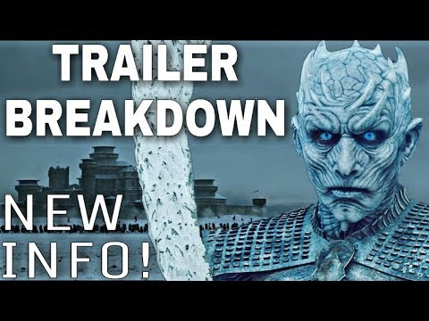 The Night King Said He Has A Target! - Game of Thrones Season 8 Trailer Breakdown