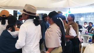 Matrimonio de Cristóbal Matango y Carolina Remache en Azama con Decisión Latinos   parte 2