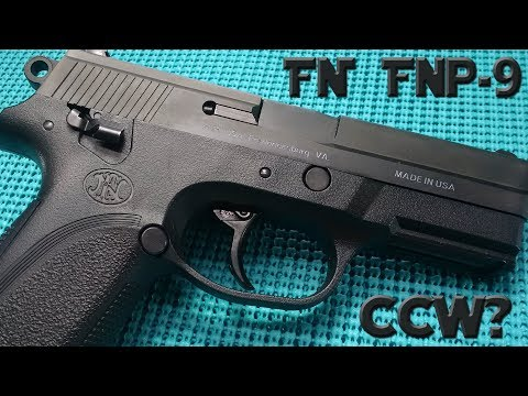 FN FNP 9 New Find 1st Look, Carry Concealed?