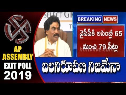 Lagadapati Rajagopal Survey on AP Election Results 2019   hmtv
