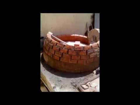 PIZZA OVEN - Authentic Pompeii Oven build