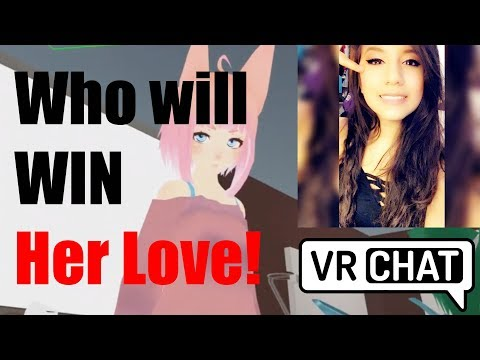 VRChat Dating Game!! Who will win her heart - (Mogsy VR Chat Highlights)