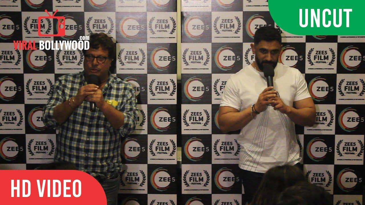 Download UNCUT - Amit Sadh & Tigmanshu Dhulia At The Special Screening Of Short Film Baarish Aur Chowmein