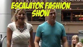 More Escalator Fashion Show!