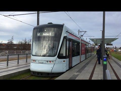 Aarhus Letbane første kørselsdag 21/12 2017