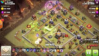 Clash Of Clans th 11 vs 11 3 star war attacks / SL top players / 3 star strategy