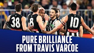 Pure brilliance from Travis Varcoe | Qualifying Final, 2018 | AFL