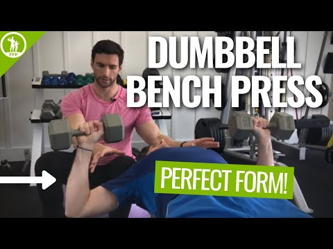 Dumbbell Bench Press - Perfect Form Video Tutorial
