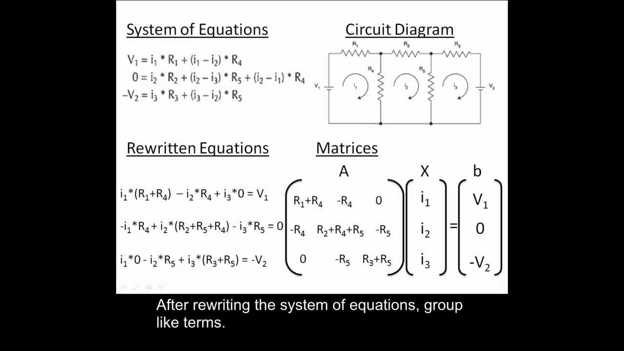 Using MATLAB to solve a system of linear algebraic equations