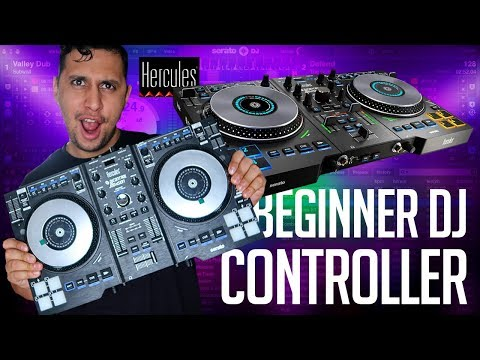 The BEST Beginner DJ CONTROLLER |  Hercules DJ Control Jogvision