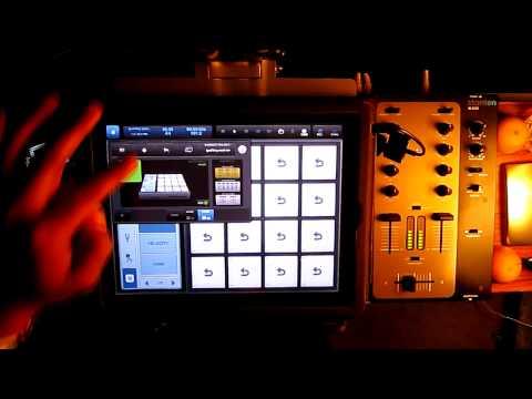 JAY ELLYIOT - iPad 2 - Intua Beatmaker 2 - 2 Sampled Hip Hop Beats