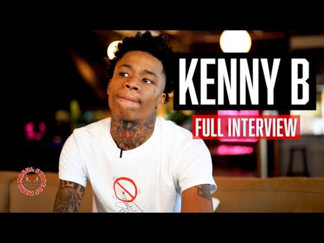 KENNY B FULL INTERVIEW: Addresses Gay Rumors, #AsianDoll , Meeting #KingVon ,#Worldstar Deal