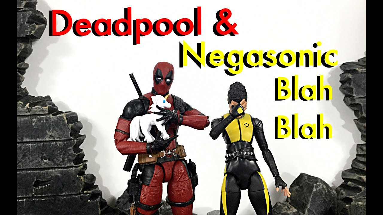 Quick Look Review #25 Hasbro Marvel Legends Deadpool 2 DEADPOOL & NEGASONIC TEENAGE WARHEAD Review