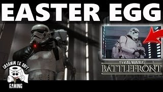 Star Wars Battlefront Easter Egg | Episode IV A New Hope Stormtrooper Blooper