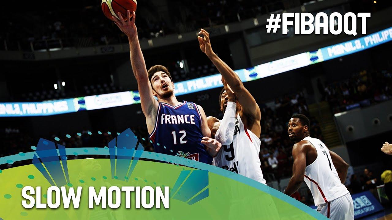 Canada v France in slow motion!