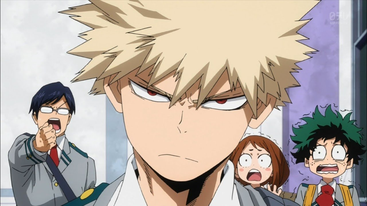 My Hero Academia anime review Bakugou