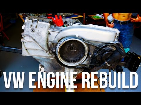 VOLKSWAGEN BUS ENGINE REBUILT | VW BUS TYPE 2 RESTORATION PART 3 [4K]