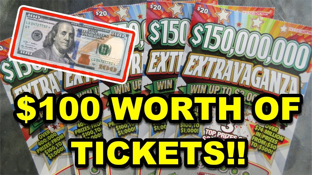 $100 Spent on Scratch Off Lottery Tickets!!  Was it Worth it?!