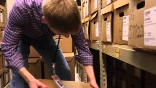 Christopher Thome: History Grad Student Finds Potential Career in Records Management