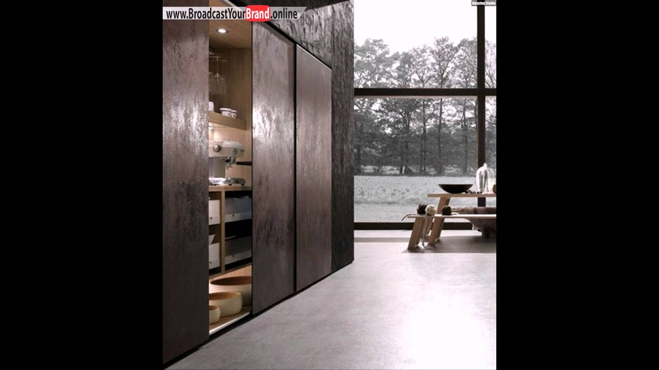 schrank schiebet re moderne k chen designs cult rational youtube. Black Bedroom Furniture Sets. Home Design Ideas