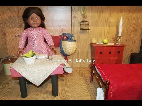 Creating A Space For American Girl Doll Addy